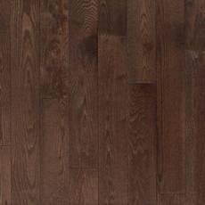Maverick Red Oak Wire-Brushed Solid Hardwood