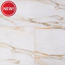 New! Caledonia Gold Polished Porcelain Tile