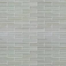 Maya Bay Pearl 1 x 4 in. Brick Glass Mosaic