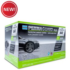 New! Permaguard Plus Dark Gray 1 Car Garage Kit