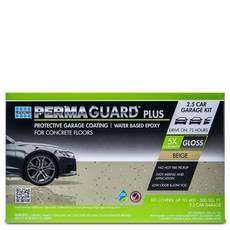 Permaguard Plus Beige 2.5 Car Garage Kit