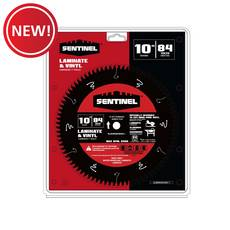 New! Sentinel 10in. 84T Laminate Blade