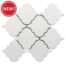 New! Heirloom Linen Arabesque I Porcelain Tile