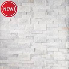 New! Quartz 6x24 Glacier Splitface Ledger Panel