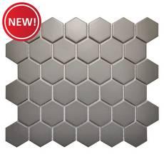 New! Moonstone Matte Hexagon Porcelain Tile