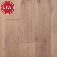 New! Harbor Mist White Oak Wire-Brushed Sawn Engineered Hardwood
