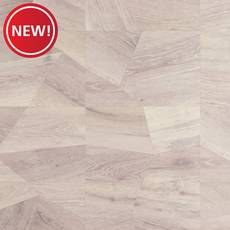 New! Geometric Gray Cork