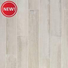 New! Carrington White Quick Lock Porcelain Tile