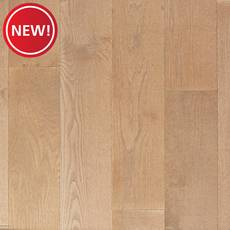 New! Serene White Oak Wire-Brushed Engineered Hardwood