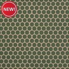 New! Olive II Porcelain Penny Mosaic