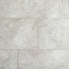 Gray Marble Luxury Vinyl Tile - Cork Back