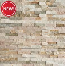 New! Beachwalk Splitface Quartzite Panel Ledger