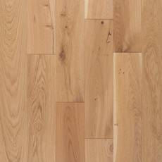 Toledo White Oak Wire-Brushed Solid Hardwood