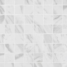 Carrara Polished Porcelain Mosaic