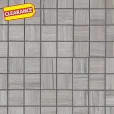Clearance! Eramosa Silver Porcelain Mosaic