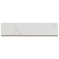 Carrara Polished Porcelain Bullnose