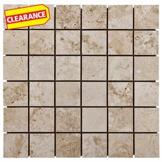 Clearance! Monte Verino Beige Porcelain Mosaic
