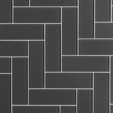 Shadow Shiny Glass Tile