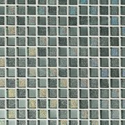 Shiny Gray Square Mix Crystal Glass Mosaic
