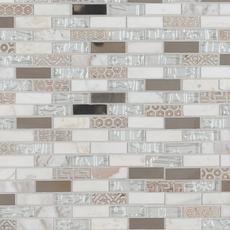 Taveuni Brick Glass Mosaic
