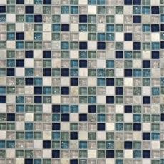 Blue Ocean Mix Glass Mosaic