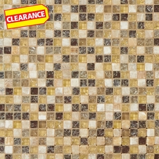 Clearance! Mediterranean Glass and Stone Mosaic