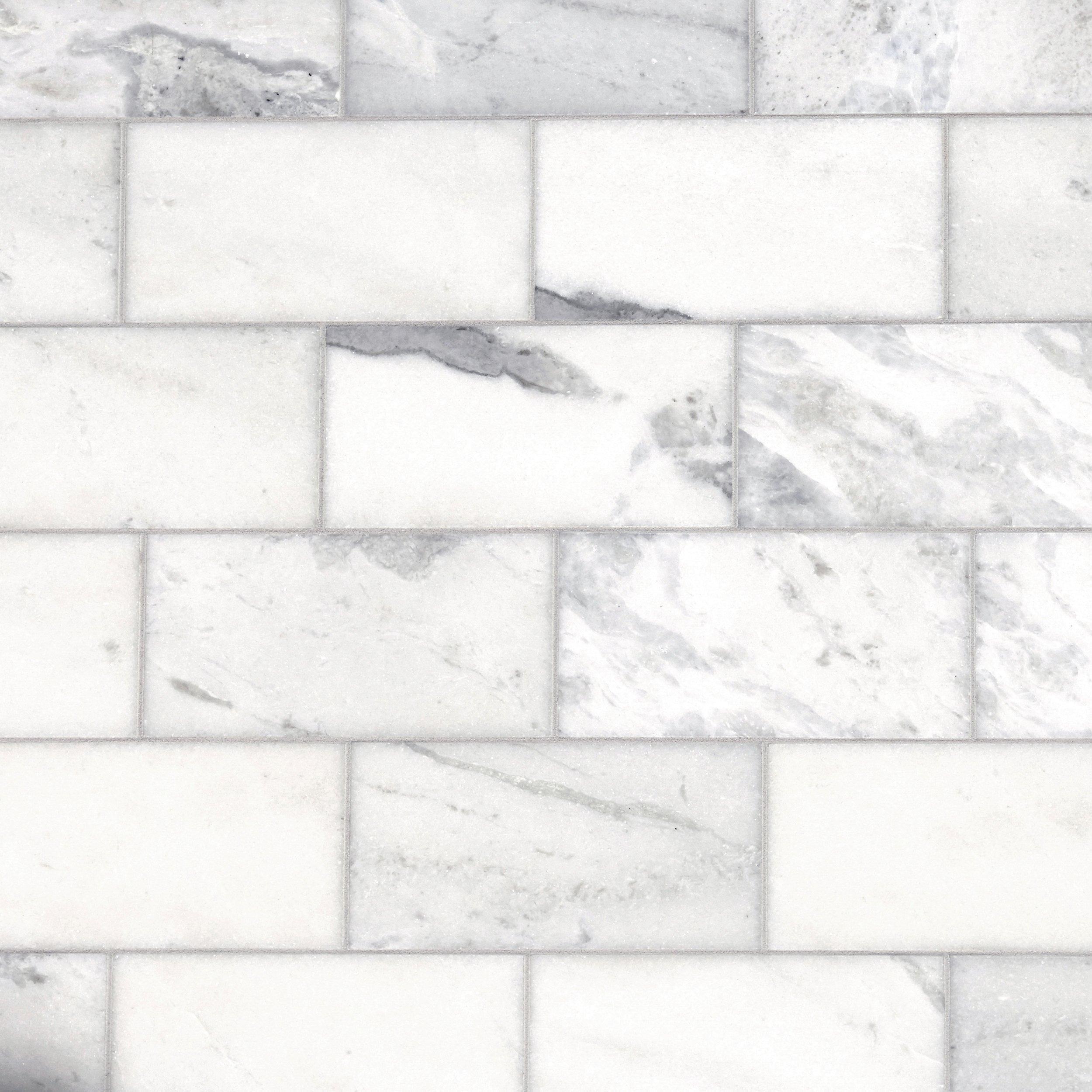 carrara marble tile. Sahara Carrara Marble Tile A
