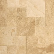 Antique Parma Brushed Chiseled Travertine Tile