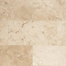 Antique Bergamo Honed Travertine Tile