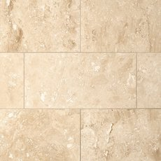 Caria Light Honed Travertine Tile