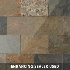 Slate StoneQuartzite Stone Flooring Floor Decor - 18 inch slate tile