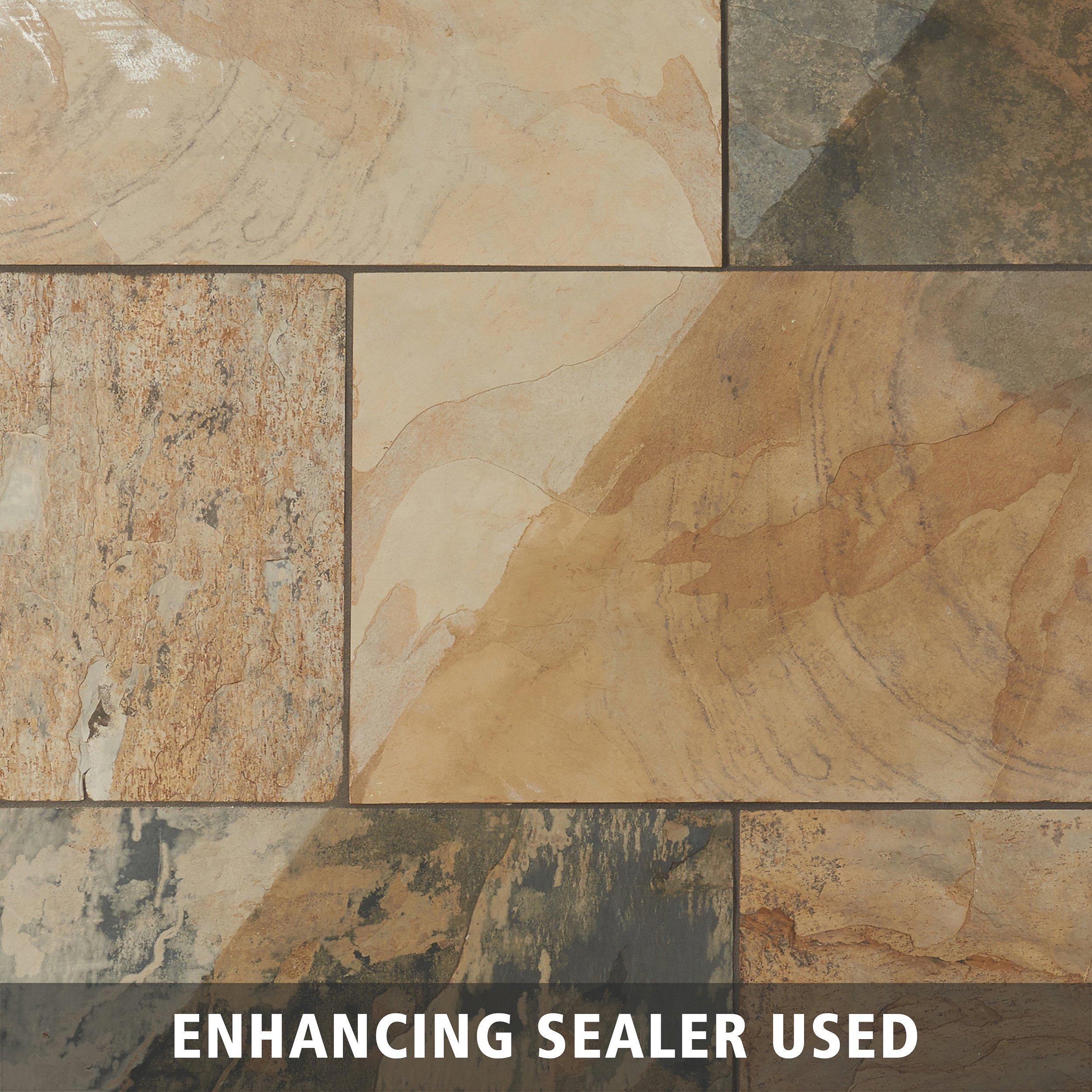 Autumn Slate Tile 16 X 24 924102599 Floor And Decor
