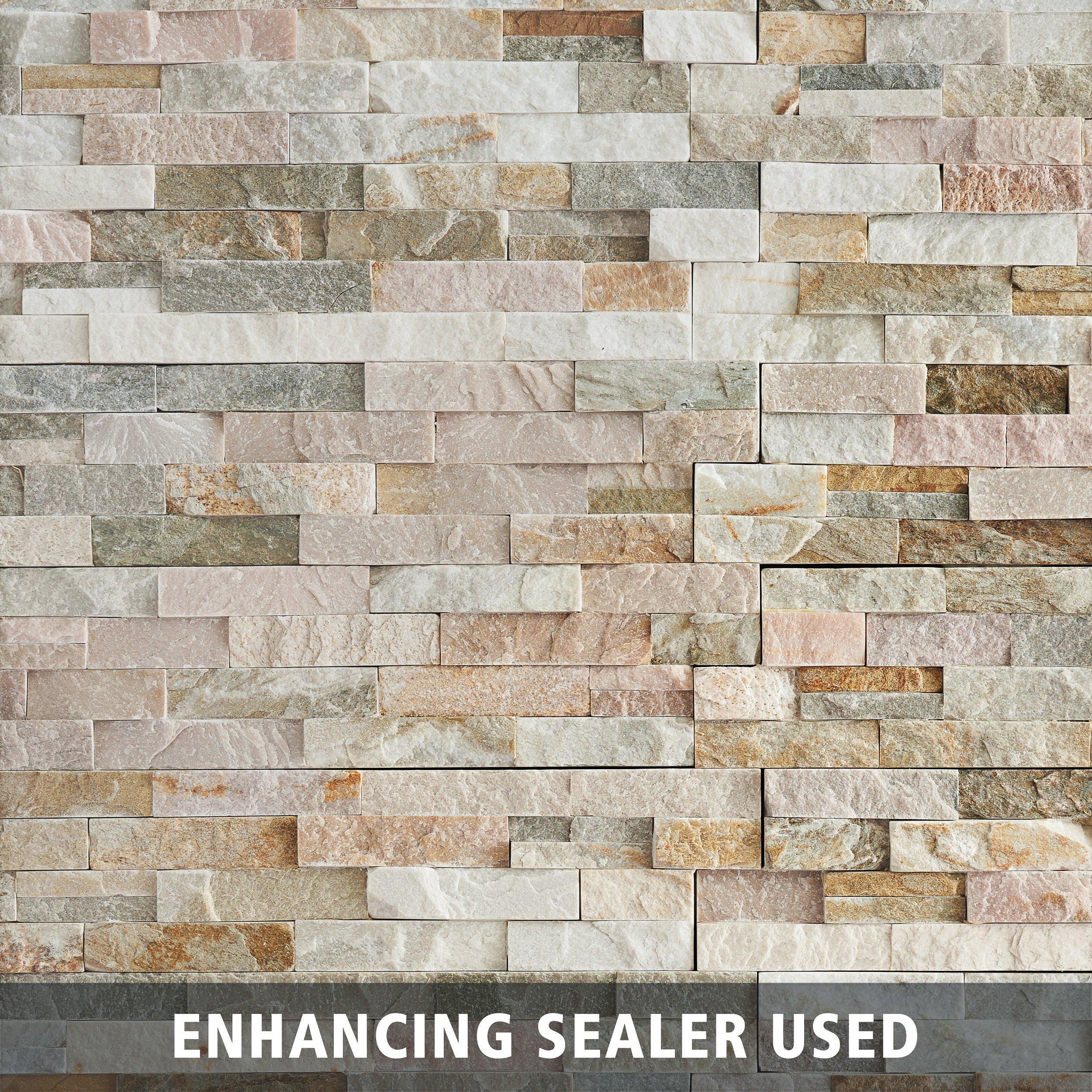 Stone Wall Tile Floor Decor