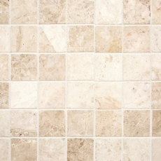 cappuccino beige marble mosaic - 12 x 12 - 931100415