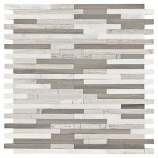 Valentino Light Mixed Linear Marble Mosaic