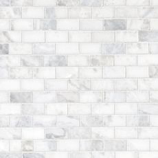Sahara Carrara Brick Marble Mosaic 12 X 12 931100864