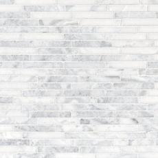 Sahara Carrara Linear Marble Mosaic 12 X 12 931100865