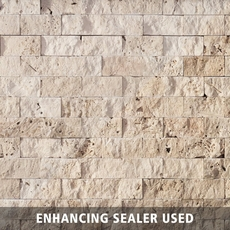 Beige Brick Travertine Mosaic