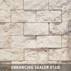 Vanilla Brick Travertine Mosaic