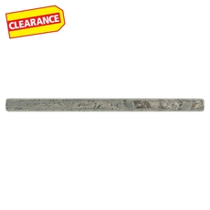 Clearance! Silver Gray Polished Slate Pencil