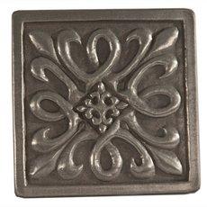 Metallic Nickel Silver Resin Decorative Insert