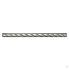 Metallic Nickel Silver Resin Decorative Listello