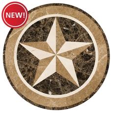New! Texas Star Water Jet Cut Medallion