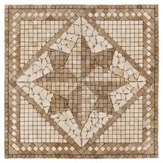 Cordoba Travertine Medallion