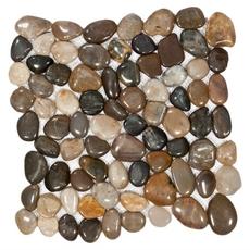 Multi Round Pebble Stone Mosaic