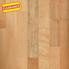 Clearance! Natural Maple Smooth Locking Engineered Hardwood