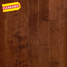 Clearance! Teak Birch Smooth Engineered Hardwood