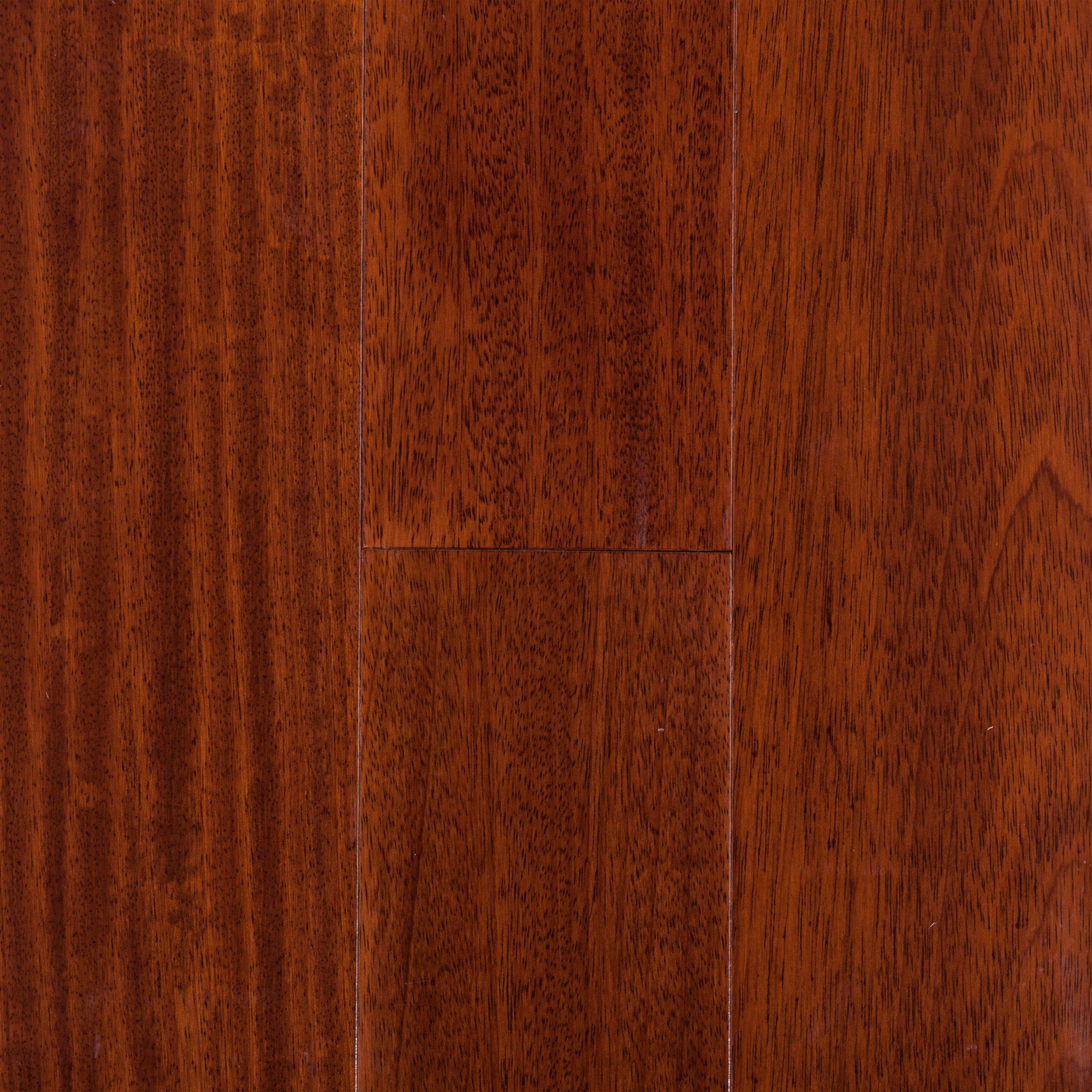Natural Brazilian Cherry Smooth Engineered Hardwood