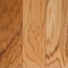 Natural Rustic Oak Smooth Engineered Hardwood 3 8in X