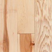 Natural Hickory Hand Scraped Solid Hardwood